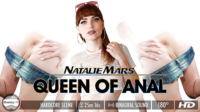 Grooby VR – Natalie Mars in Queen of Anal